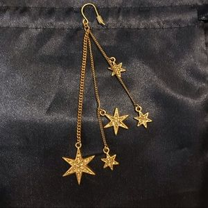 J Crew dangle star earrings